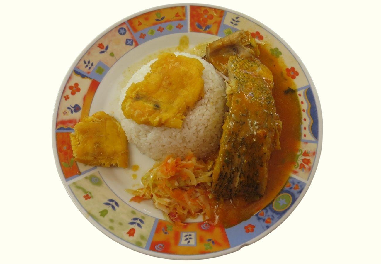 pescado sudado